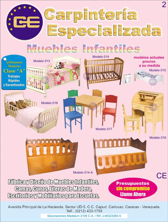 MUEBLES INFANTILES,CUNAS,CAMAS,LITERAS DE MADERA LAQUEADA>>EN ...