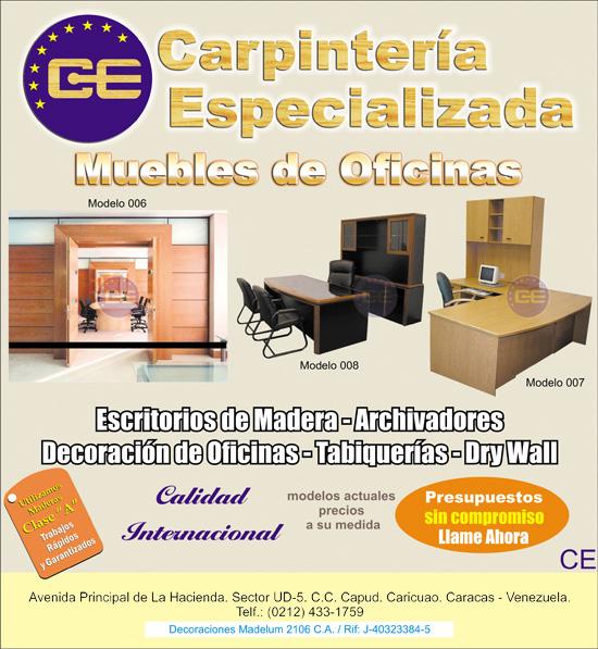 Carpinteria elaboracion de muebles a la medida fotos for Muebles de oficina zona san martin