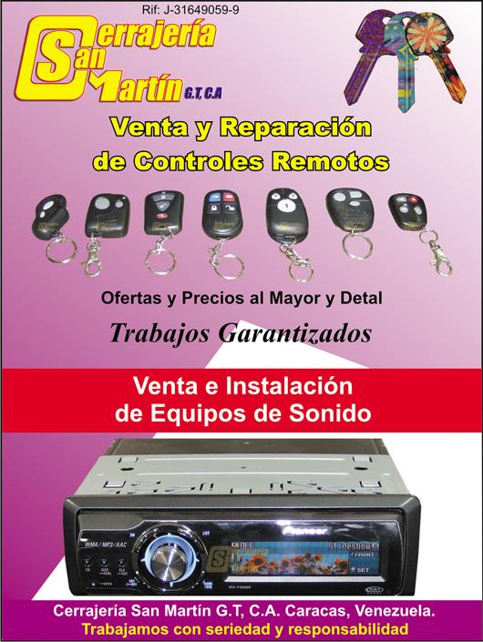 Alarma equipos sonido llaves de en anuncios caracas venezuela for Sonido de alarma
