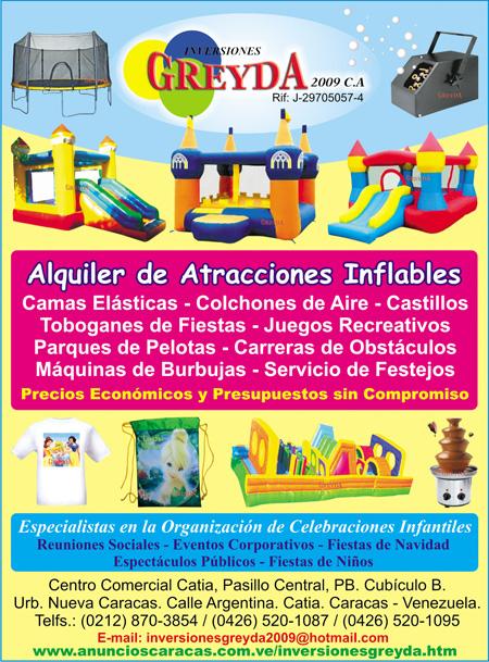 Alquiler De Colchones Inflables Castillos Camas Elasticas Fiestas
