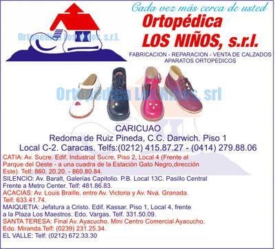 869e78f0 Ortopedia: Zapatos Ortopédicos, Muletas, Férulas de Dennis Browan ...