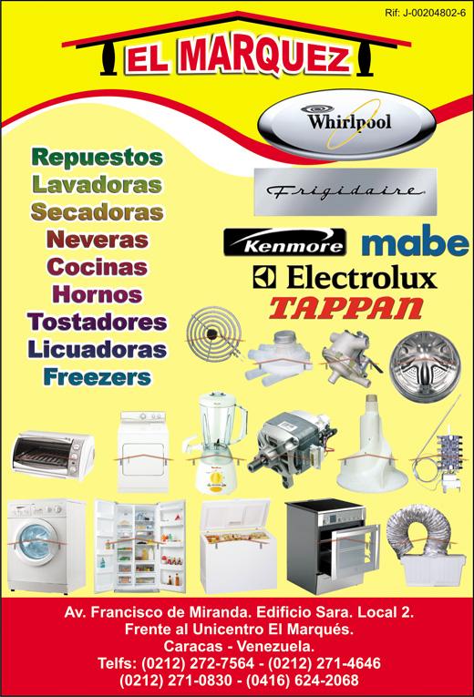 Lavadoras secadoras neveras whirlpool frigidaire kenmore - Medidas de lavadoras y secadoras ...