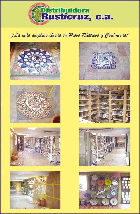Ceramicas para ba os cocinas pisos paredes alfareria en for Ceramicas rusticas para pisos
