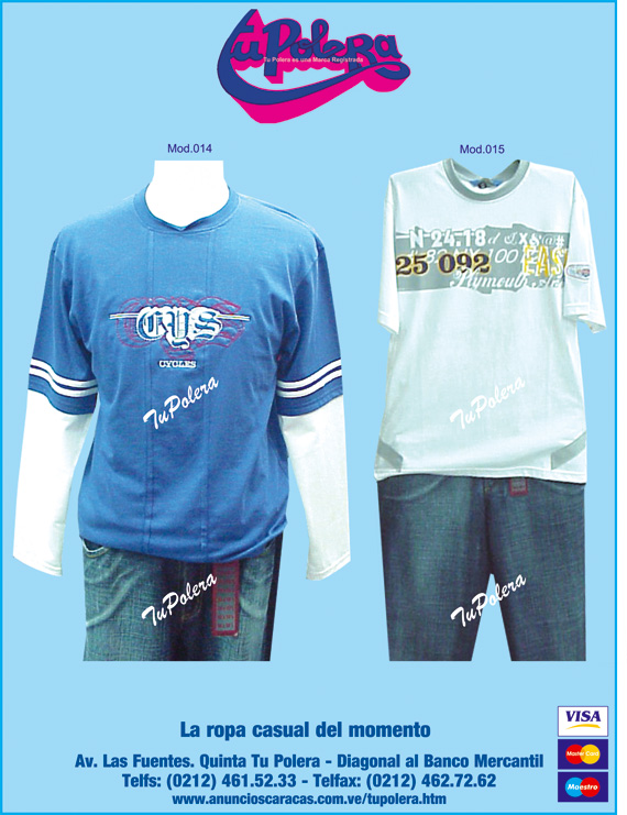 Modelos de ropa fashion fabricante en anuncios caracas for Distribuidora ropa interior